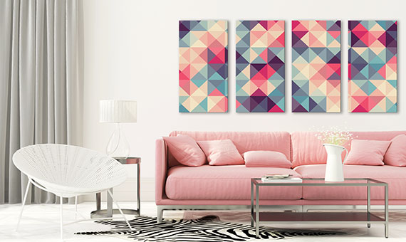 canvas frames - geometric