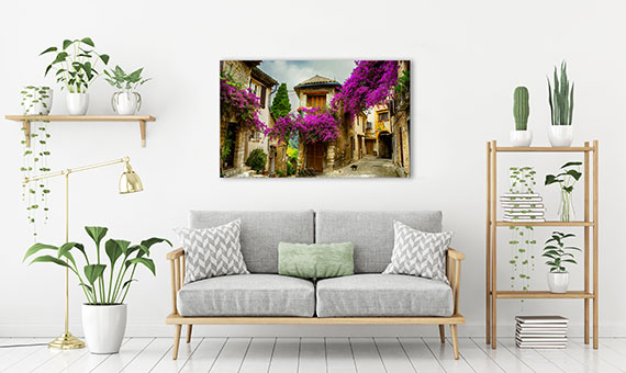 canvas frames - landscapes nature
