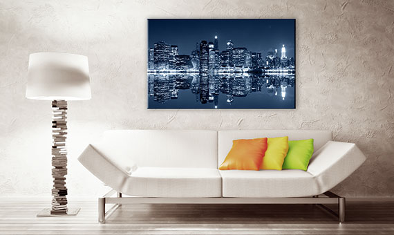 canvas frames - skyline
